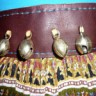 Leather Dance Belt with Bells